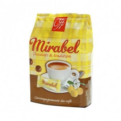 Chocolats mirabel pochon de 36 chocolats 100g