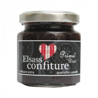 Confiture Elsass 140g questche cannelle