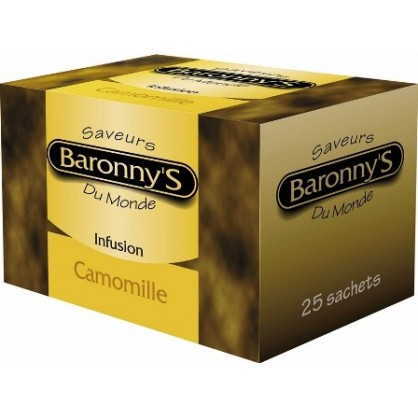 Infusion camomille 25 sachets Barronny's