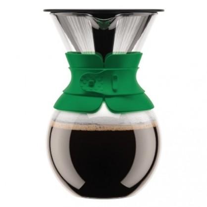 Pour over cafetière filtration lente Bodum 0.5L - Verte