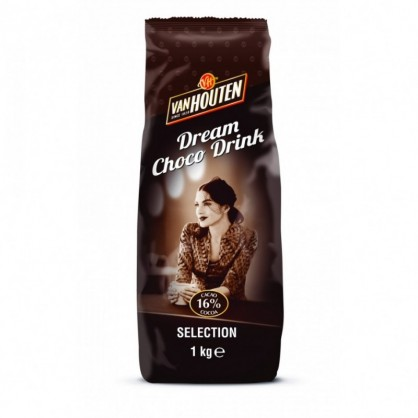 Dream choco drink Van Houten Sélection 16% cacao 1kg