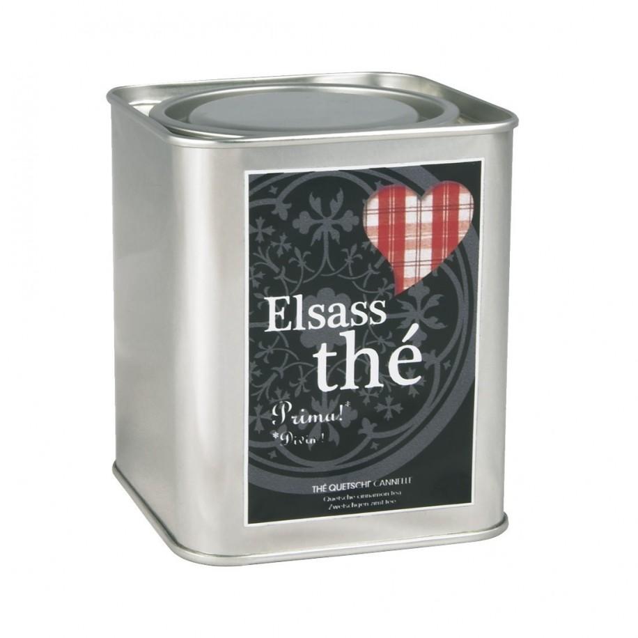 Coffret thé questche cannelle Elsass thé 125g