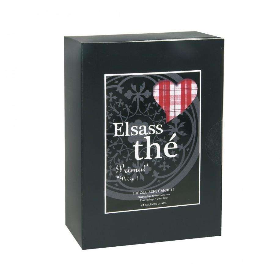 Elsass thé questche cannelle - boîte de 24 sachets