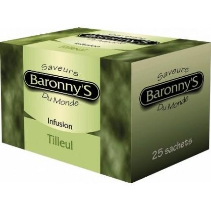 Infusion tilleul 25 sachets Barronny's