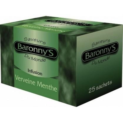 Infusion verveine menthe 25 sachets Barronny's