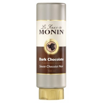 Sauce chocolat noir Monin 50 cl