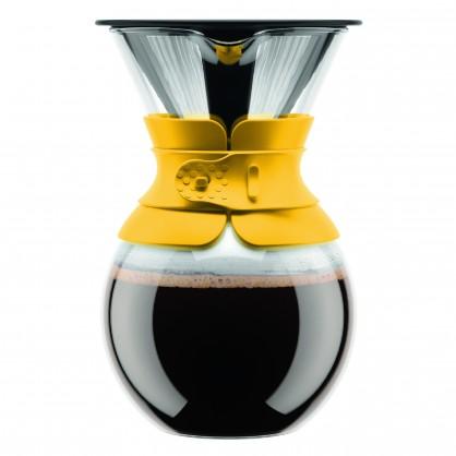 Cafetière filtration lente Bodum 1L - Jaune