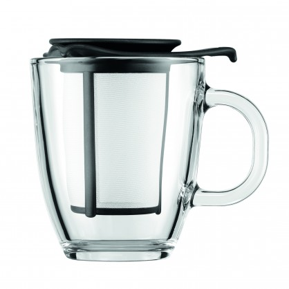 Yo-yo set Bodum noir 35cl mug infuseur