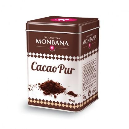 Cacao pur 200g Monbana