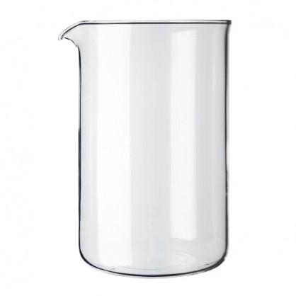 Verre de rechange, pour cafetière à piston 12 tasses