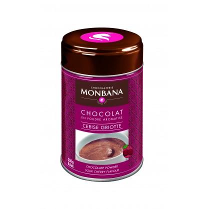 Chocolat en poudre aromatisé cerise griotte 250g