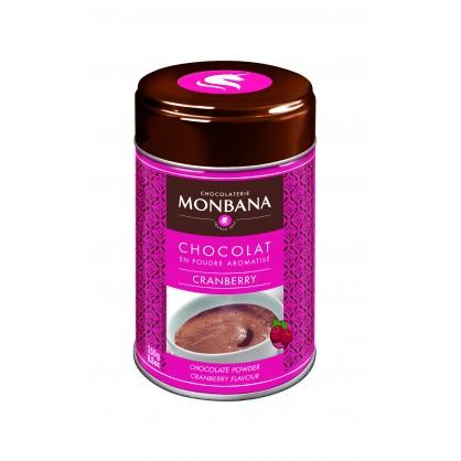 Chocolat en poudre aromatisé cranberry 250g
