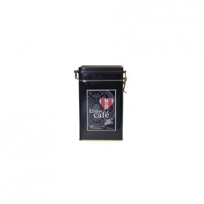Boîte à café Elsass garnie noire
