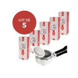 Lot de dosettes compatibles ESE - Offre découverte 5x25 dosettes