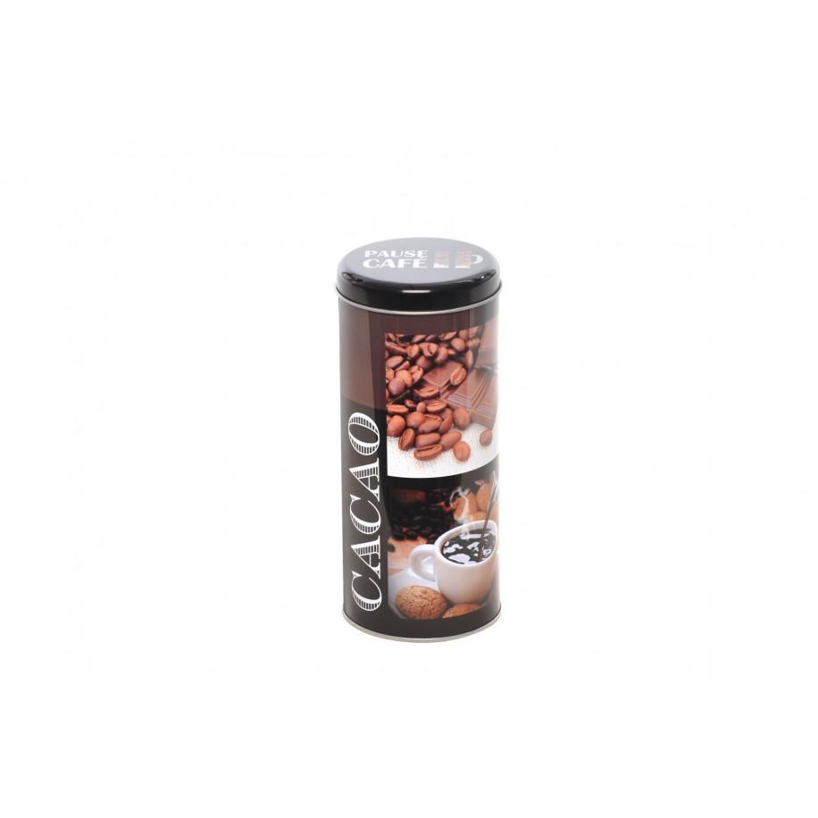 Boite ronde en métal pour dosettes