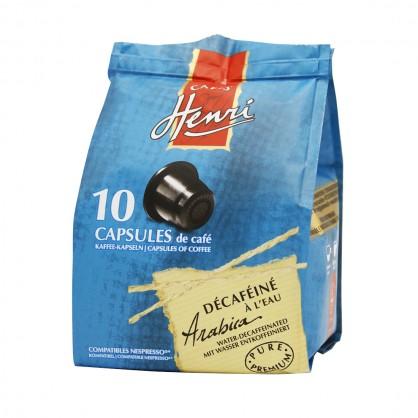 Décaféiné - Etui de 10 capsules compatibles Nespresso