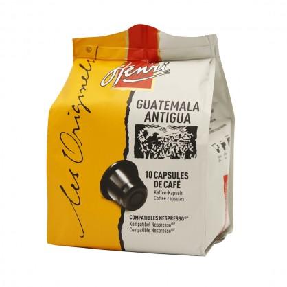 Guatemala Antigua - Etui de 10 capsules compatibles Nespresso