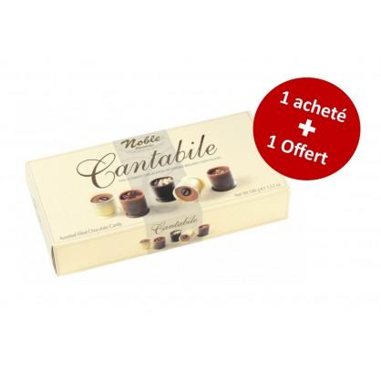 Assortiment de bouchées au chocolat Cantabile 100g