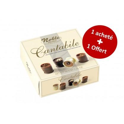 Bouchées en chocolat assortis Cantabile 50g