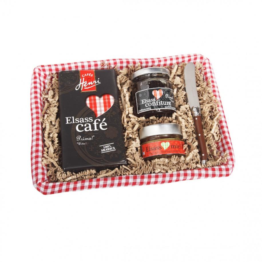 Panier «Petit Déjeuner en Alsace»