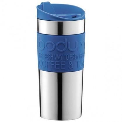 "Travel mug double paroi inox 0.35L ""Petrol"" Bodum"