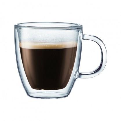 Coffret de 6 tasses à café 9cl double paroi