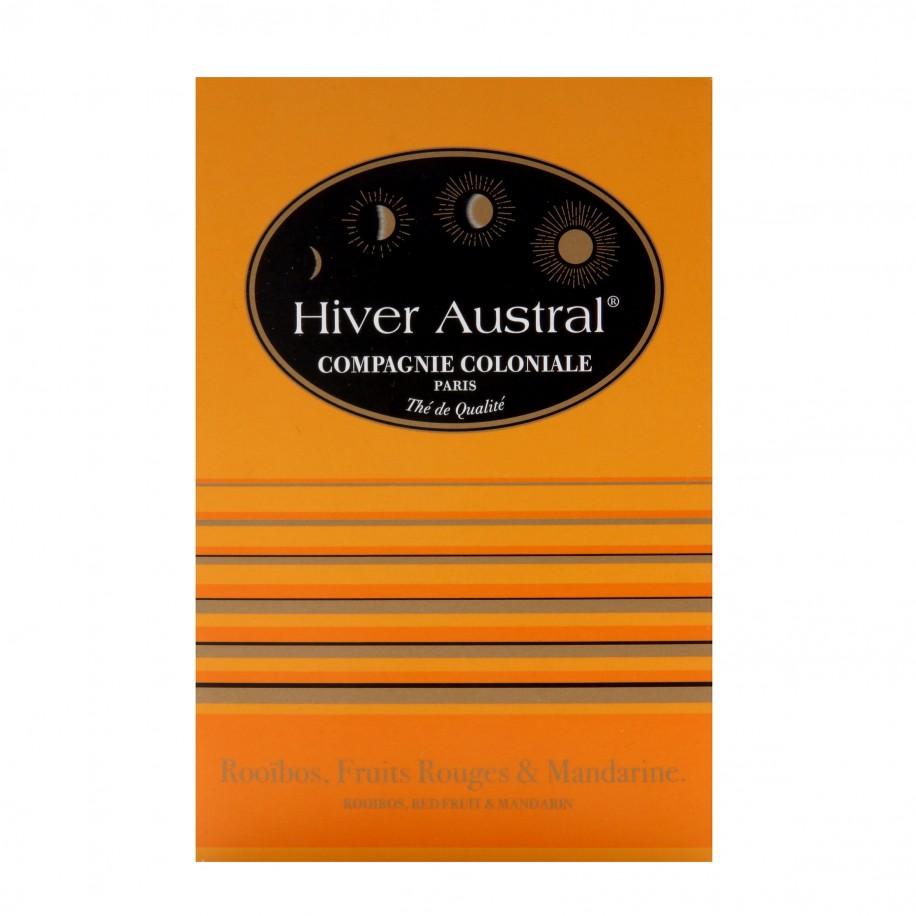 Rooibos Hiver Austral 25 sachets berlingots