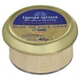 Bloc de foie gras d'Oie Edouard Artzner