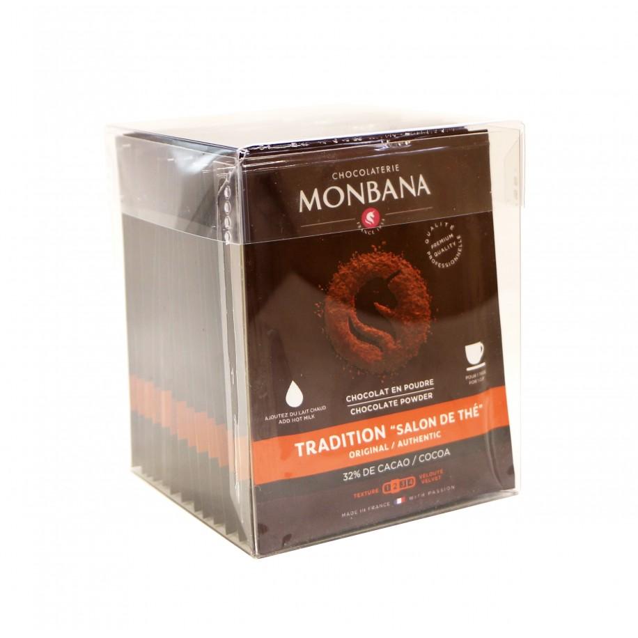 Chocolat en poudre tradition non lactée 32% cacao - Doses