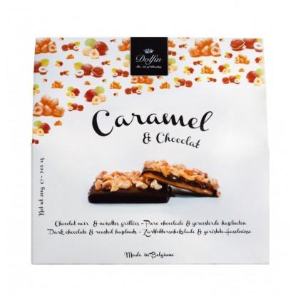 Caramel chocolat au lait et granola 200g