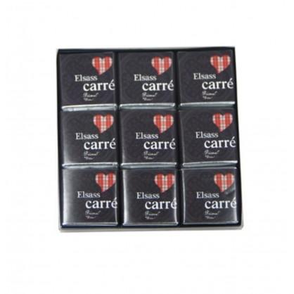 Carrés de chocolat noir Elsass