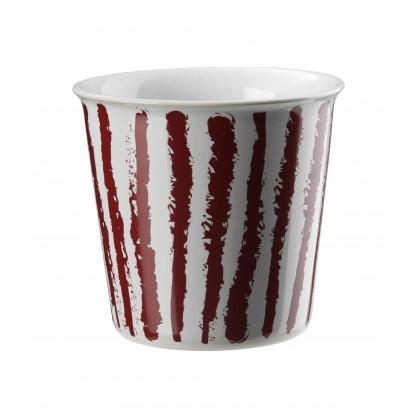 Gobelet café Lungo Coppetta 25cl rouge