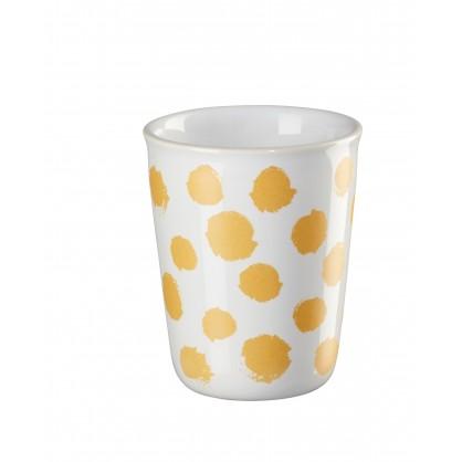 Gobelet espresso 10cl jaune