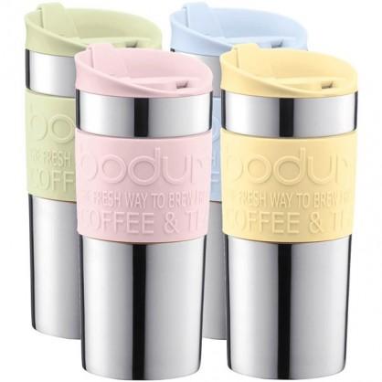 Travel mug isotherme double paroi BODUM 0.35L