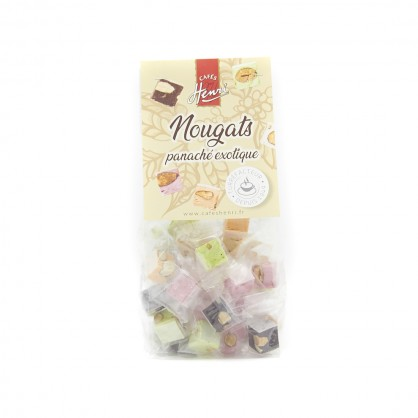 Bonbons de nougat miel amande x400
