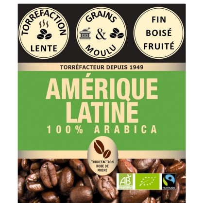 Amérique Latine fairtrade bio