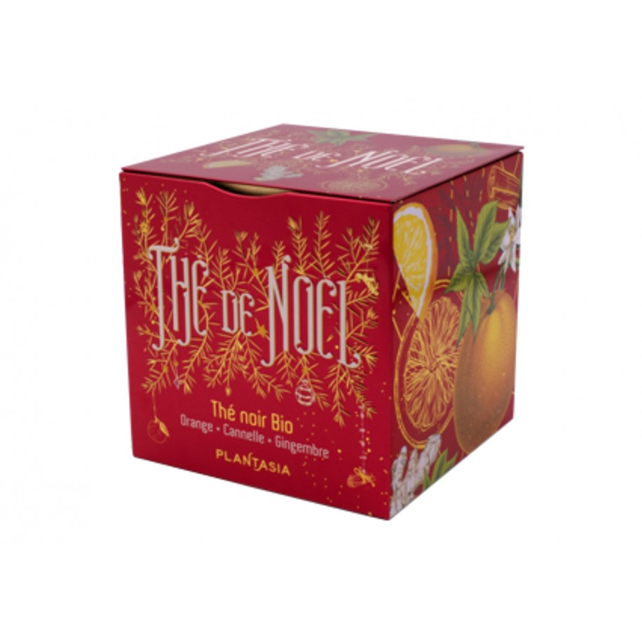 Thé de Noël Orange Cannelle BIO