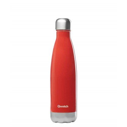 Bouteille isotherme 500ml rouge brillant