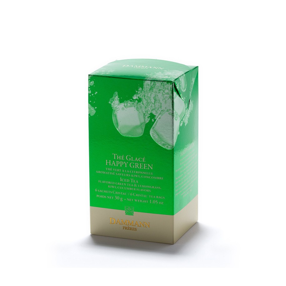 Thé vert glacé Happy Green Dammann