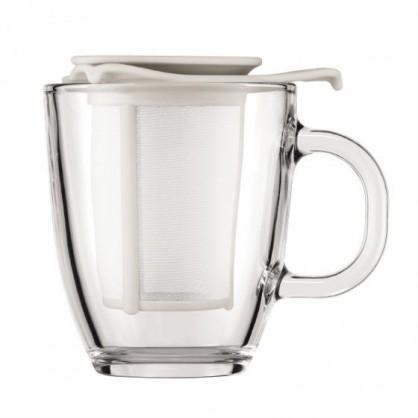 Yo-yo set Bodum blanc 35cl mug infuseur