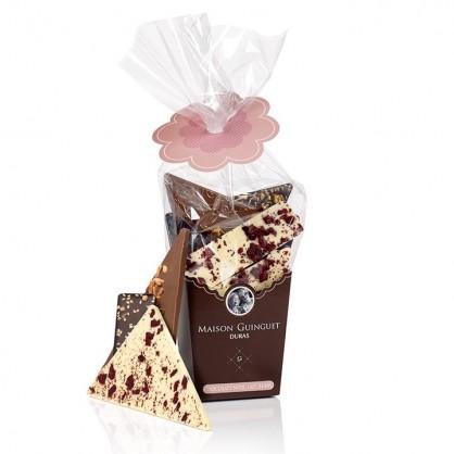Boite à sac - assortiment de chocolat de Noël