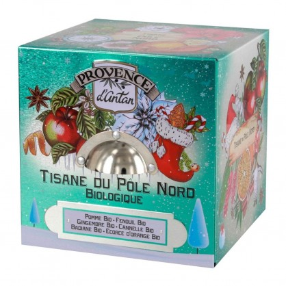 Tisane du Pole Nord en cubé métal BIO