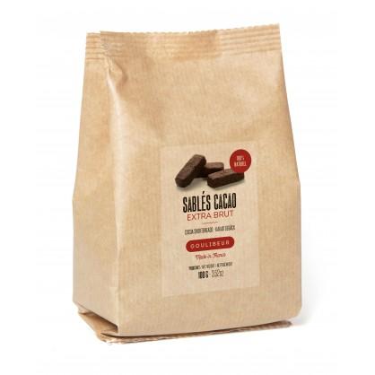 Sablés tradition au cacao extra brut