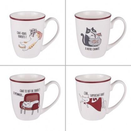 Mug Funny Cats 38cl