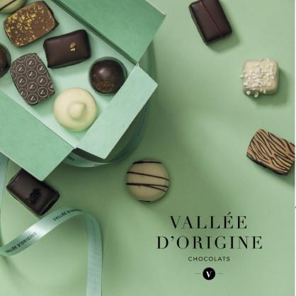 Ballotin de chocolats Vallée d'Origine 250g