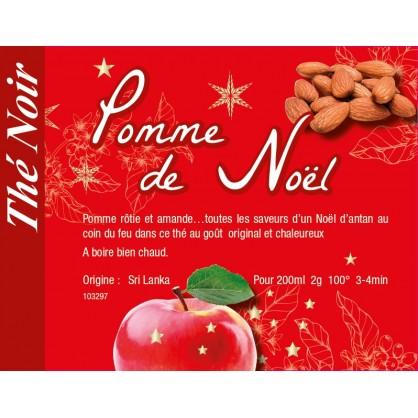 Pomme de Noël - Thé noir