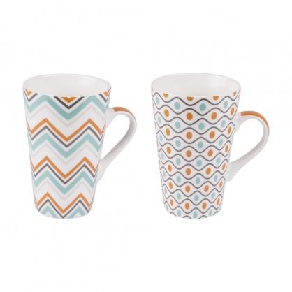 Coffret 2 mugs 46cl Funky