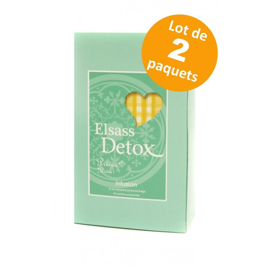 Elsass Infusion Detox - 24 sachets