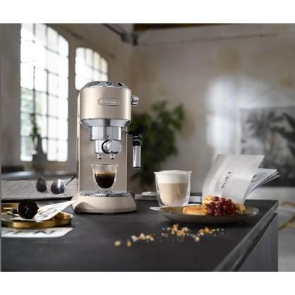 Machine espresso Delonghi Dedica EC 795 Beige + Barista Pack