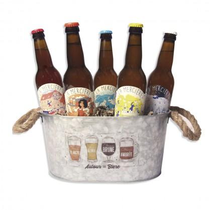 Autour d'une bière
